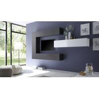 gdegdesign Ensemble meuble TV mural avec rangements - Manoj <br /><b>499 EUR</b> gdegdesign