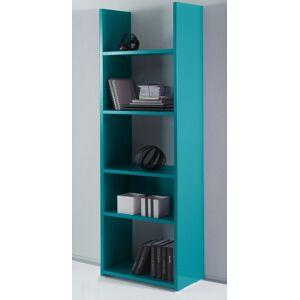 gdegdesign Bibliothèque étagère turquoise bleu 5 étagères - Mirko - Publicité