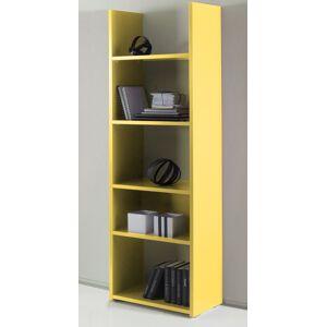 gdegdesign Bibliothèque étagère jaune 5 étagères - Mirko - Publicité
