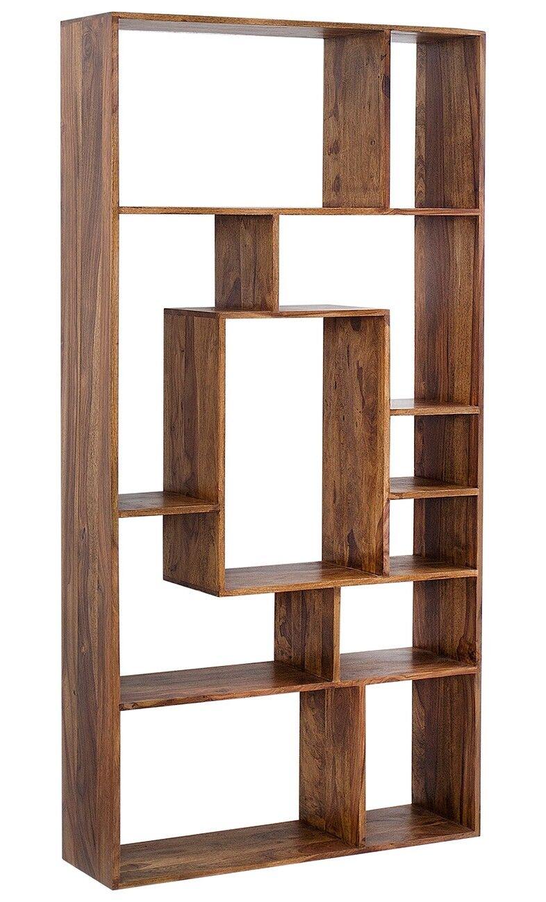 gdegdesign Bibliothèque étagère en bois massif de palissandre avec casiers - Aksil