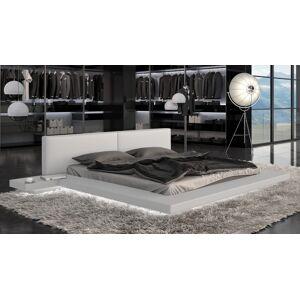 gdegdesign Lit lumineux LED blanc 160x200 cm - Kiara