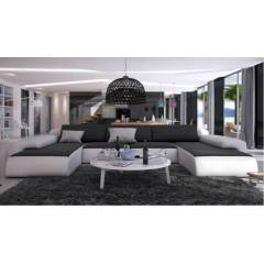 gdegdesign Canapé d'angle design panoramique en cuir - Stolac
