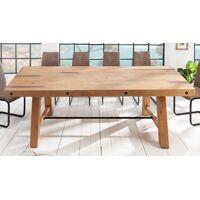 gdegdesign Table à manger rectangulaire bois de pin massif clair 200 cm - Raymond <br /><b>849.00 EUR</b> gdegdesign