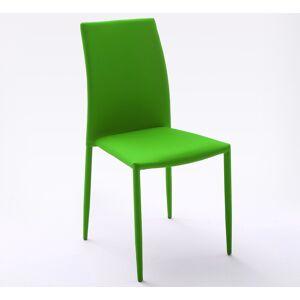 gdegdesign Chaise design verte tissu - Victoria - Publicité