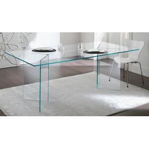 gdegdesign Table à manger rectangulaire en verre - Bogota - Publicité
