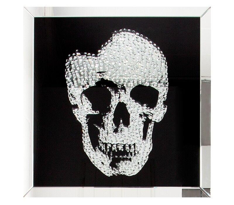 gdegdesign Cadre miroir tableau design tête de mort - Howell