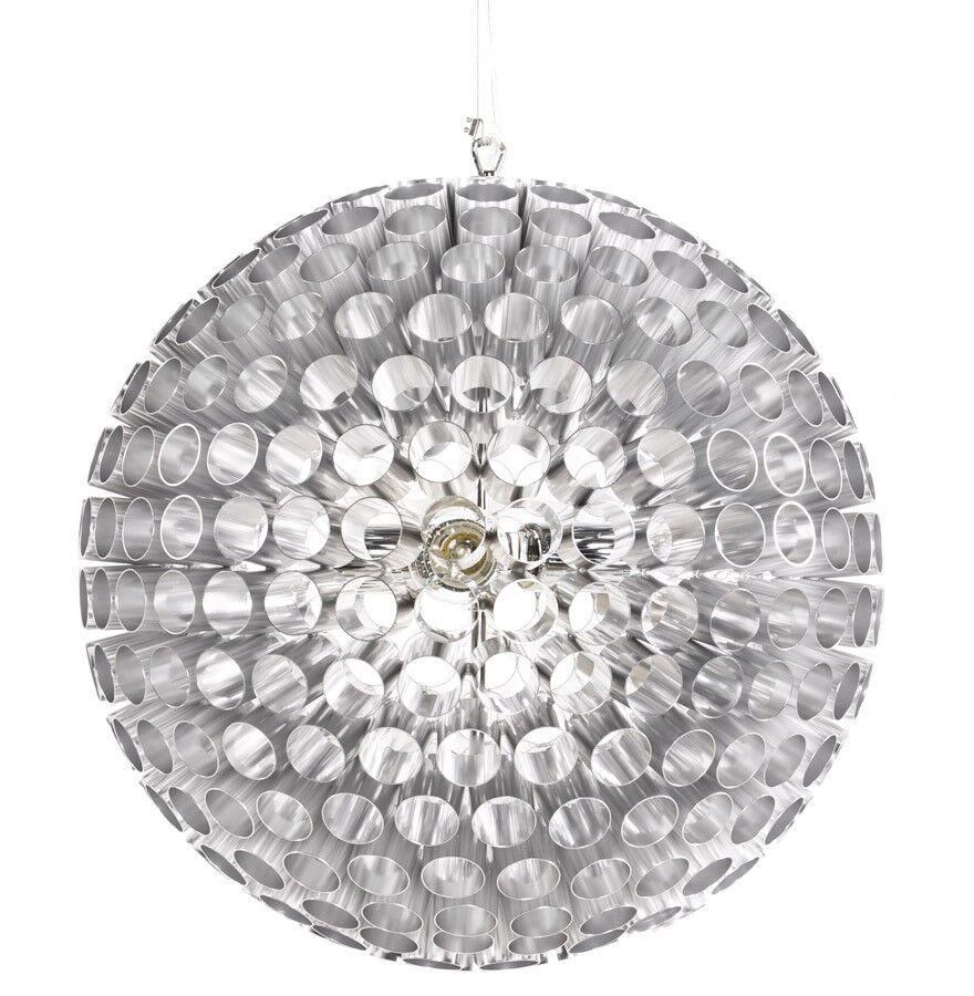 gdegdesign Lustre suspension ronde boule aluminium - AL Nitro