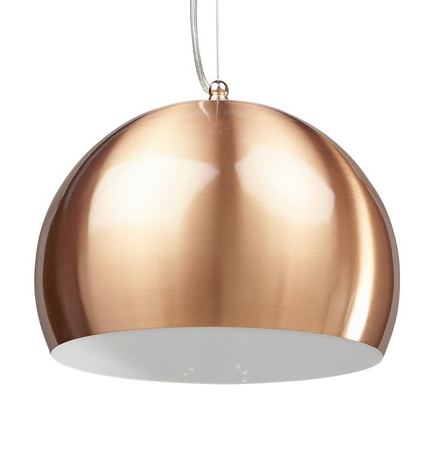 gdegdesign Lustre suspension design couleur cuivre - Mogo
