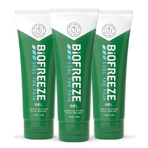 Physio-Med Gel apaisant Biofreeze - Lot de 3 - 118 ml