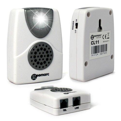 Geemarc Amplificateur de sonnerie de téléphone – CL11