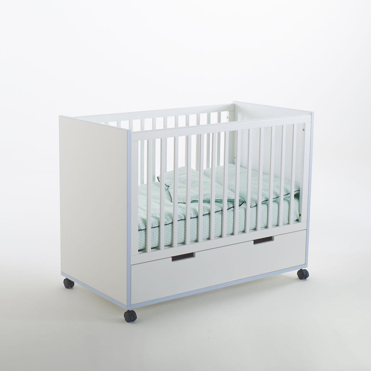La Redoute Lit bébé avec tiroir et roulettes, Lisalou - LA REDOUTE INTERIEURS