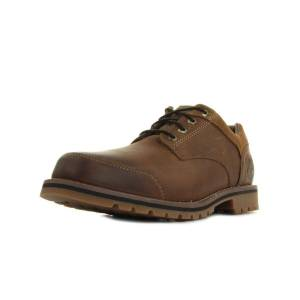 4e4e5d711a6 Timberland Chaussures Larchmont Oxford Medium Brown Full-Grain and Suede -  TIMBERLAND