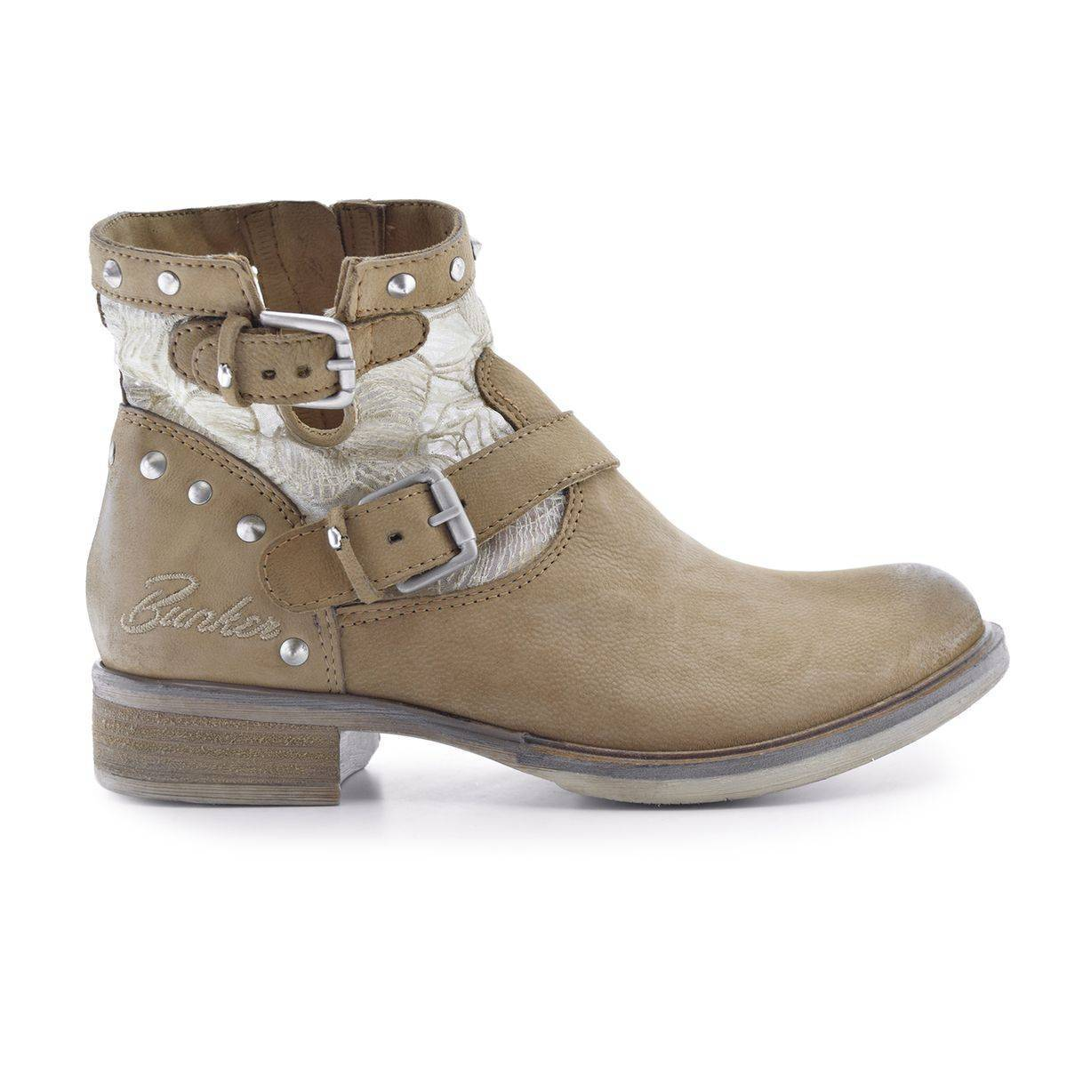 Bunker Boots cuir Soly - BUNKER