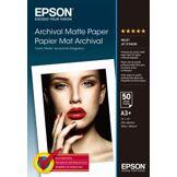Epson Papier photo Epson A3+ Mat -50f - 192g/m²