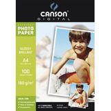 Canson Papier photo Canson 100FL Everyday A4 180g Photo Brillant