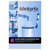 Brabantia Dérouleur Brabantia 12L- 40 sacs - C