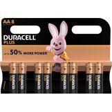 Duracell Pile Duracell Plus Power AA/LR06 x8