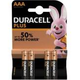Duracell Pile Duracell Plus Power AAA/LR03 X4