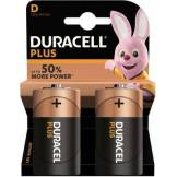 Duracell Pile Duracell Alcaline PLUS POWER D/LR20 x2