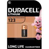Duracell Pile Duracell spéciale ultra lithium CR123, 1 unité