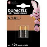 Duracell Pile Duracell Alcaline N/LR1, pack de 2 unités