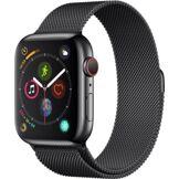 Apple Watch Montre connectée Apple Watch 44MM Acier Noir/Mil Noir Series 4 Cell