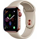 Apple Watch Montre connectée Apple Watch 44MM Acier Or/Gris sable Series 4 Cell