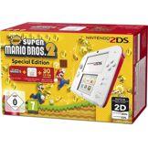 Nintendo Console 2DS Nintendo Blanche/Rouge + New Super Mario Bros 2