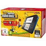 Nintendo Console 2DS Nintendo Noire/Bleue + New Super Mario Bros 2