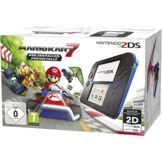Nintendo Console 2DS Nintendo Noire et Bleue + Mario Kart 7
