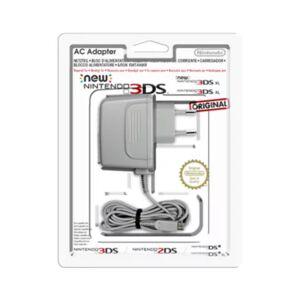 Nintendo Chargeur Nintendo Bloc d'alimentation 3DS XL/3DS/DSi XL/DS