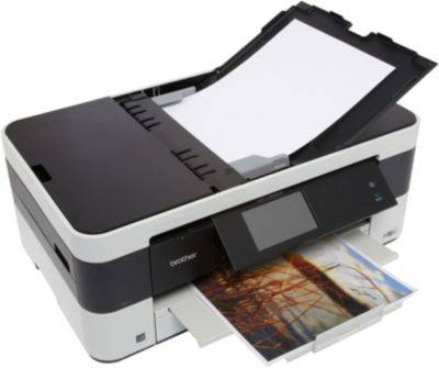 Brother Imprimante jet d'encre Brother MFC-J4625DW + Cartouche d'encre Brother LC223 N/C/M/J + Papier ramette Essentielb Papier 90g 500 feuilles