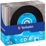Verbatim CD vierge Verbatim CD-R Data Vinyl 700MB 10PK Slim 52x