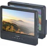 Essentielb Lecteur DVD portable double écran Essentielb Mobili MM9 + Support Voiture + Casque Essentielb Nova Black