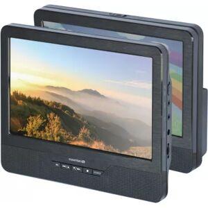 Essentielb Lecteur DVD portable double écran Essentielb Mobili MM9 + Support Voiture