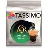 Tassimo Dosettes exclusives Tassimo Café L'OR Long Délicat X16