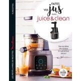 Larousse Livre de cuisine Larousse Faites vos jus avec Juice&Clean