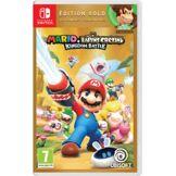 Ubisoft Jeu Switch Ubisoft Mario Lapins Crétins Kingdom Battle Gold