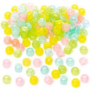 Baker Ross Perles fluorescentes (Paquet de 200) Loisirs créatifs pour Enfants et Adultes - Publicité