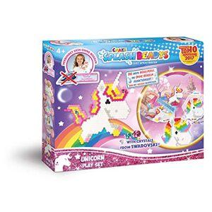 CRAZE fusibles Splash BEADYS Perles d'eau de Licorne Jeu de Bricolage pour Enfants 58467, Multicolore - Publicité