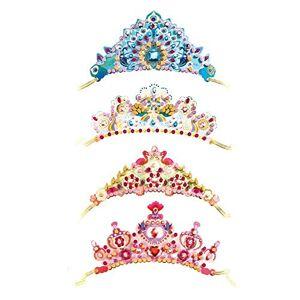 DJECO Serre-Tte pour Décoration de Princesse (37901), Multicolore - Publicité