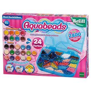 Aquabeads La Maxi Boite de Perles 79958 Recharge Perles Assorties Loisirs Créatifs - Publicité