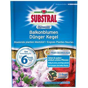 Substral Fleurs De Balcon Osmocote Engrais Cne 25 Pices - Publicité