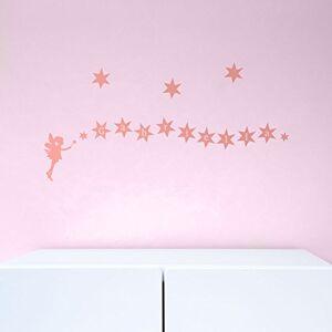 Stickerscape Fée et les étoiles personnalisé stickers muraux par  Autocollants (Ensemble d'autocollant ordinaire) - Publicité