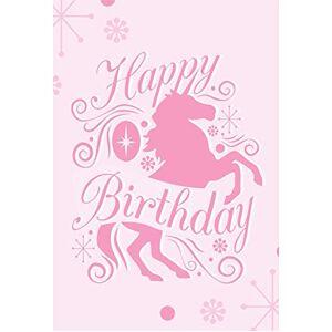 Cassisy 2x3m Vinyle Licorne Toile de Fond Abstrait Joyeux Anniversaire Decor Pink Pattern Wallpaper Fond Décors Studio Photo Enfant Video Fete Photobooth Photographie Props - Publicité