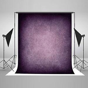 Kate 88ft (2.52.5m) Portrait Toile de Fond Violet Sombre Texture Abstraite Fond Coton Tissu Photo Studio Cabine pour la Photographie sans Soudure - Publicité