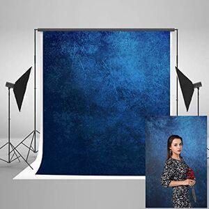 KateHome PHOTOSTUDIOS 2x3m Toile de Fond Studio Photo Bleu Portrait Fond de Photo Abstrait Fond de Photographie - Publicité
