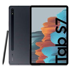 """Samsung Galaxy Tab S7 Tablette S Pen, Snapdragon 865 Plus, écran 11,0"""" WQXGA, 128 Go Extensible jusqu' 1 to, RAM 6 Go, Batterie 8 000 mAh, LTE, Android 10, Mystic Black [Version Italie] - Publicité"""