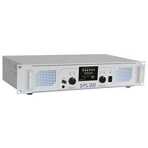 Skytec SPL1000MP3 Amplificateur professionnel, 2X 500 Watts Blanc, SD, MP3, USB idéal pour une utilisation mobile, DJ, HIFI, Home Cinéma - Publicité