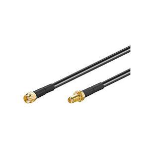 Wentronic Rallonge antenne WLAN (Wi-Fi) Fiche RP-SMA / Prise RP-SMA 3m (Import Allemagne) - Publicité